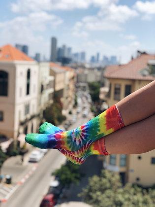 Crazy tie-dye
