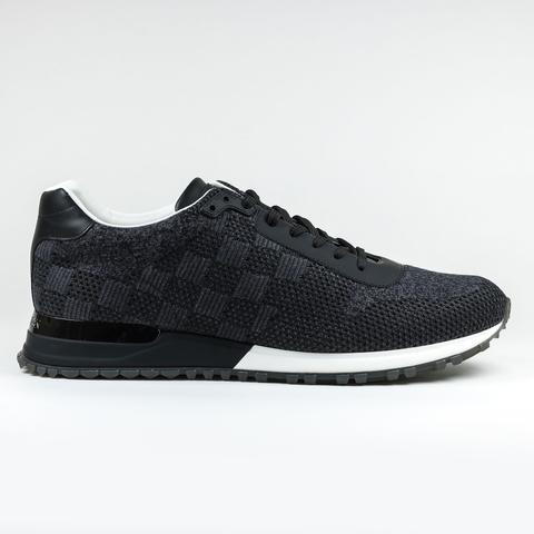 e84fe44cfb4c LOUIS VUITTON DAMIER CHARCOAL RUN AWAY SNEAKER