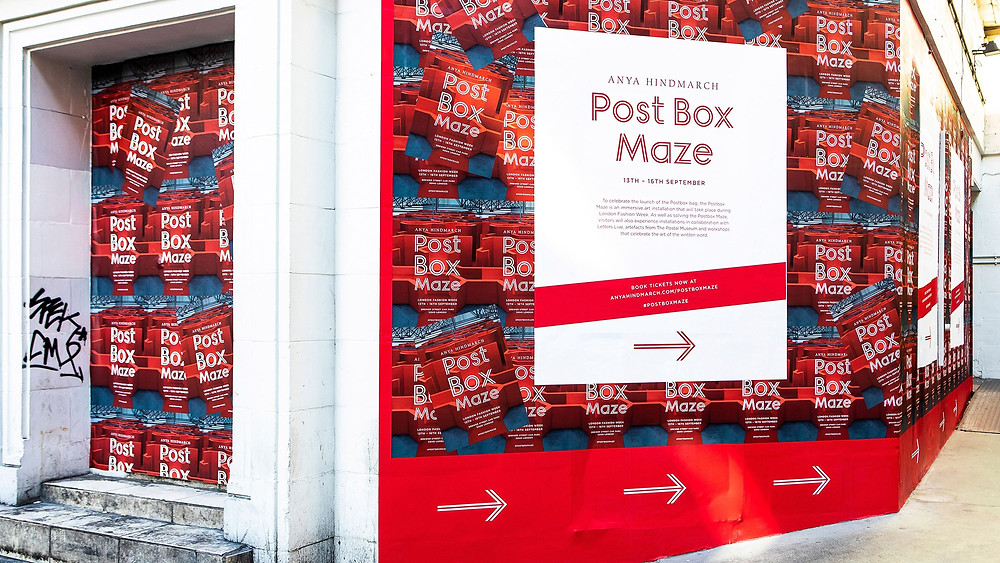 Post Box Maze promotional materials