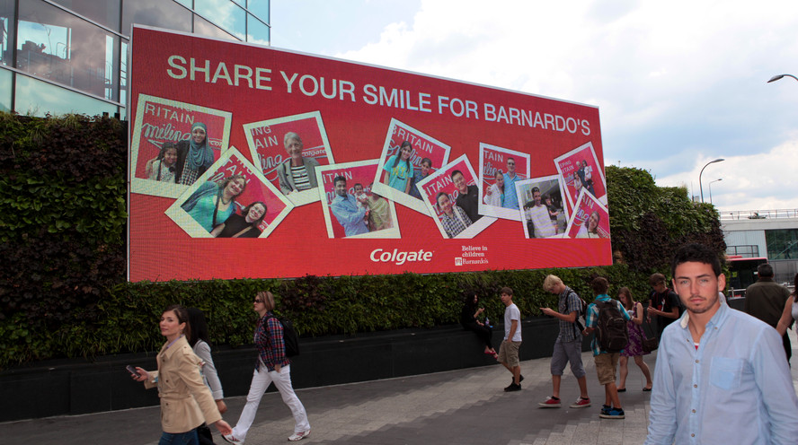 COLGATE BRAND ACTIVATION AND DIGITAL OUTDOOR MEDIA