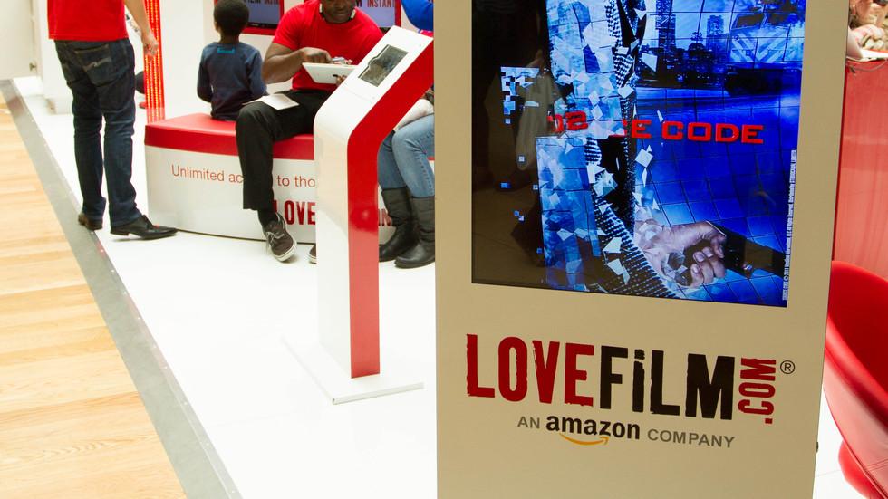AMAZON LOVE FILM INTEGRATED CAMPAIGN