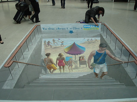 DIRECT HOLLIDAYS NATIONAL 3D CHALK ART AND DISTRIBUTION