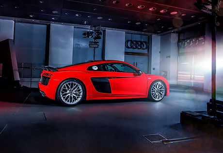 AUDI R8 AND RS CAR PLACEMENT