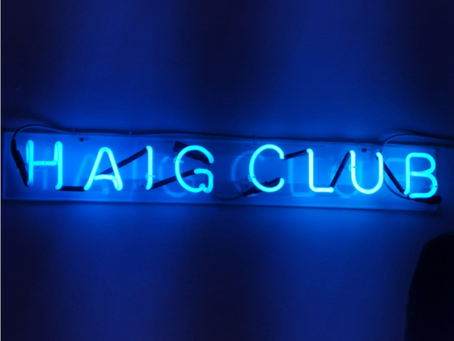 Popping into the Haig Club 'House-Party'