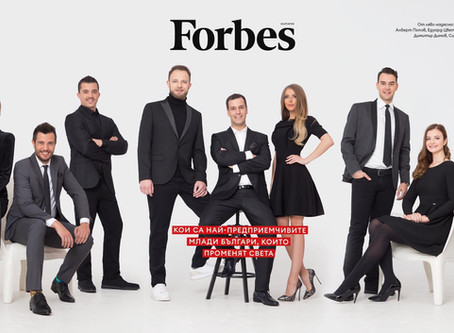 Our founder is awarded with Forbes 30 Under 30
