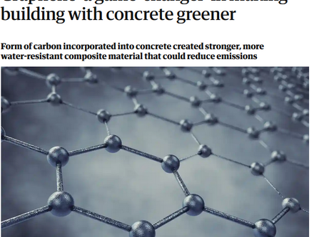 Concrene® is featured in more than 50 international media outlets