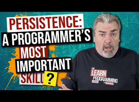 An Important Skill Programmers Must Possess!
