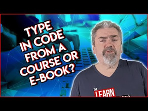 Is It Important to Type in Code From Coding Exercises?