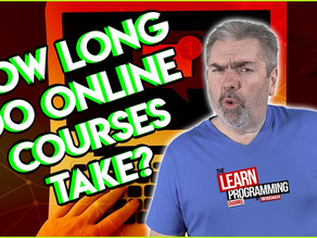 How Long Does It Take to Go Through an Online Programming Course?