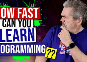 How Fast Can You Learn Programming?