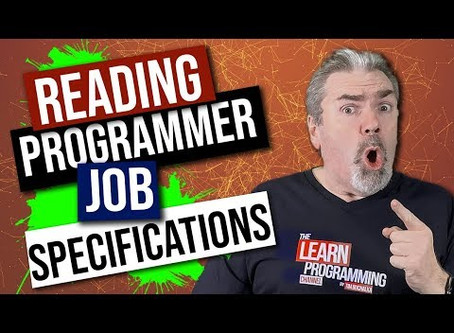 Reading Programmer Job Specifications Carefully