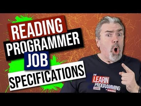 Reading Programmer Job Specifications Carefully