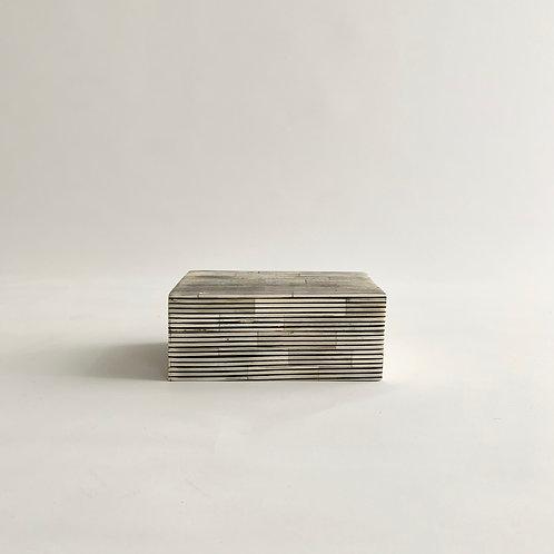 Pinstripe Bone Inlay Box
