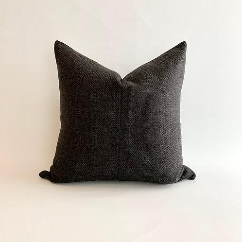 Black Basketweave Cushion