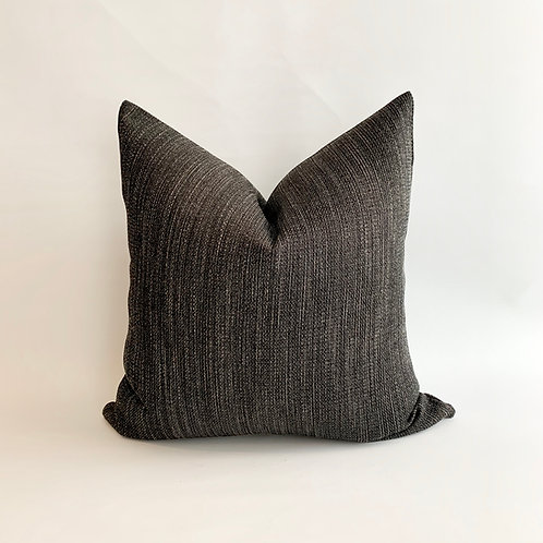 Black and Tan Fleck Cushion