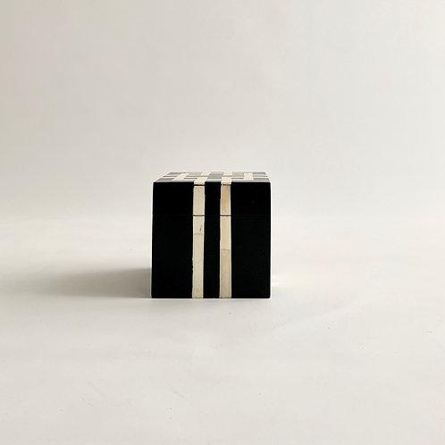 Black + White Inlay Box