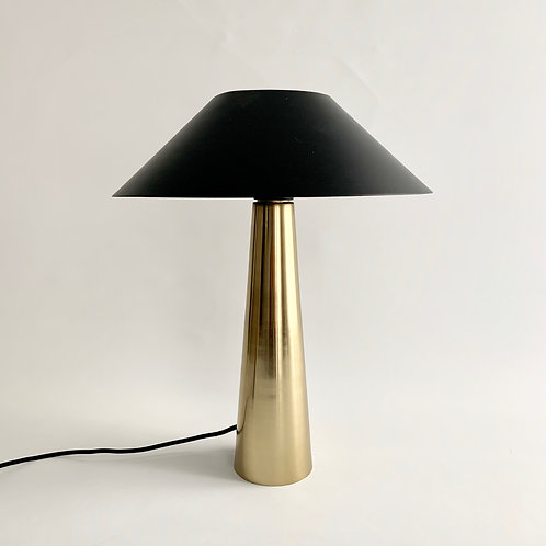 Black + Gold Table Lamp