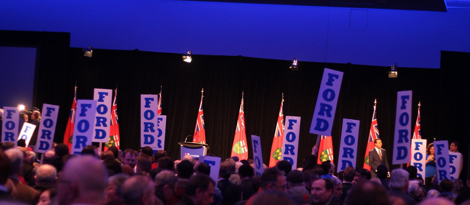 Ford Government: Ontario News Now Is Paid For Through The Conservative Caucus Budget