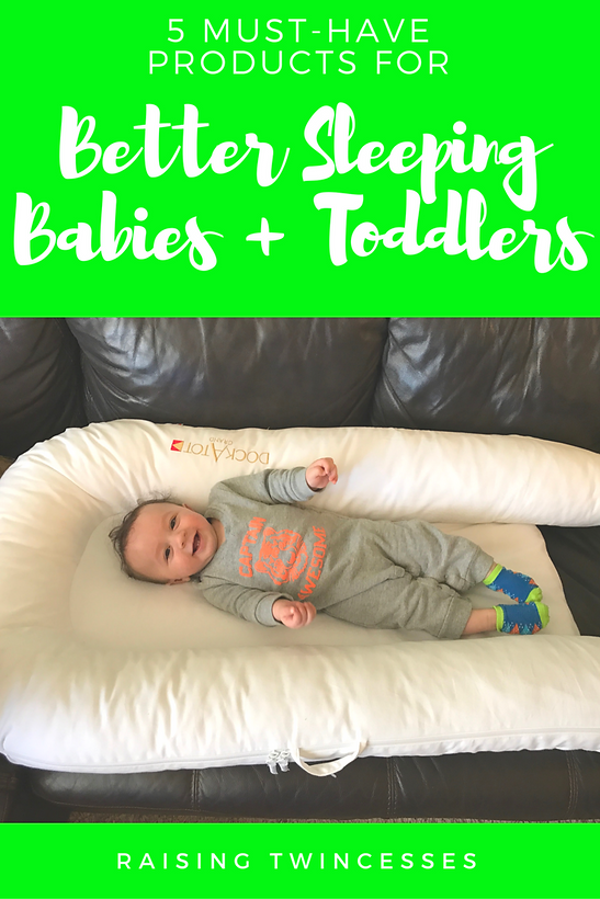 5 Must-Have Products for Better Sleep With Babies & Toddlers | Guest Post