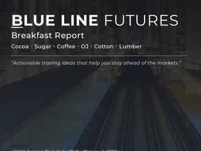BLUE LINE - BREAKFAST REPORT