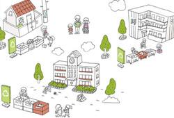 학교 삽화