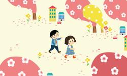 봄날 도시2