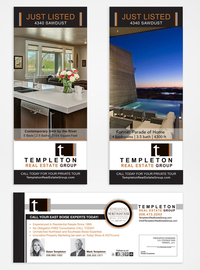 Templeton Realty Group Mailer