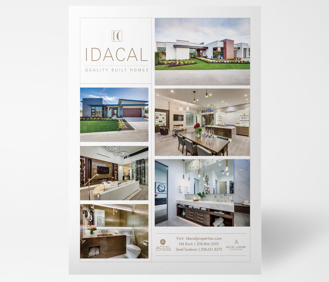 IdaCal Magazine Ad