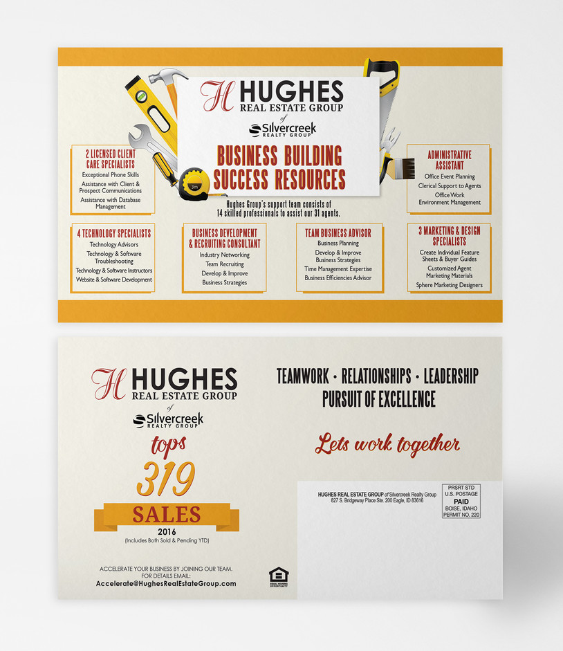Hughes Group Recruiting Postcard