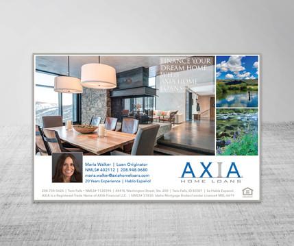 AXIA Parade of Homes Ad