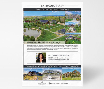 Accel Realty Group Listing Flyer