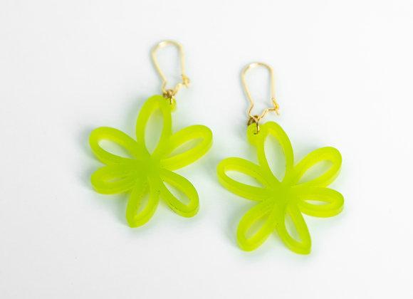 Doodle Flower Earrings