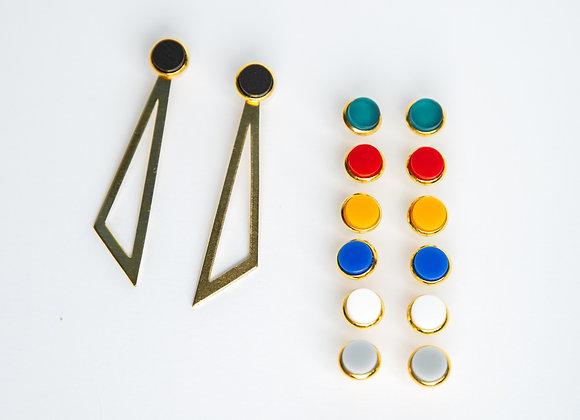Susie Trio Earring Set