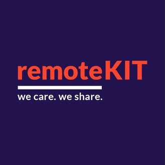 remoteKIT BRANDING KAMPAGNE / WEBSITE / LOGO / MERCHANDISING (INNERT 24h)