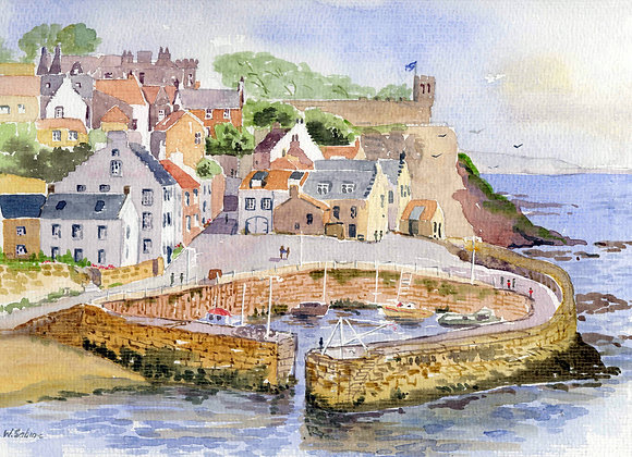 Crail Harbour, Fife II