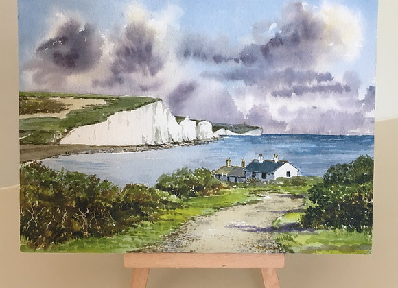 Canvas Print of Seven Sisters