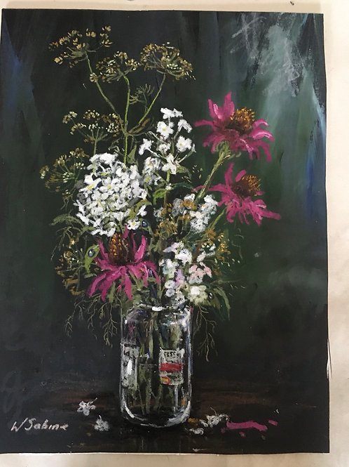 Study of echinacea, phlox and fennel .