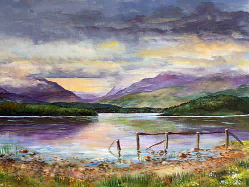 Loch Lomond from Ross Priory