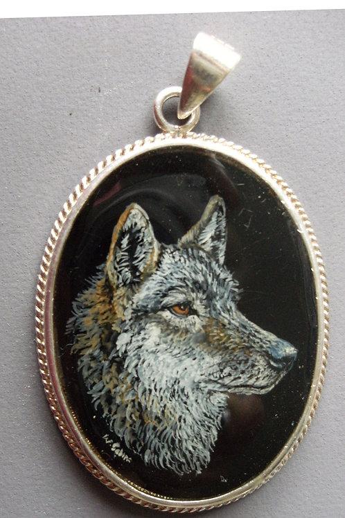 wolf on onyx
