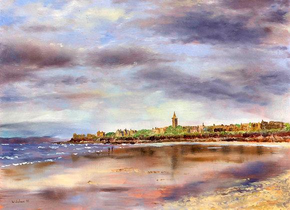 West Sands, St Andrews, Low Tide