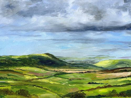 Firle Beacon and the South Downs