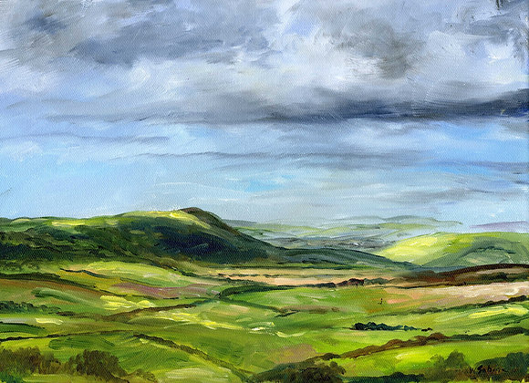 Firle Beacon and the South Downs I