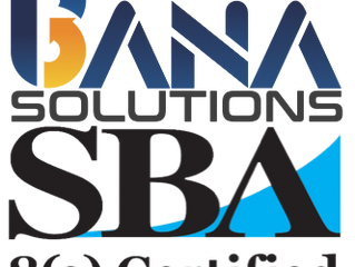 Bana Joins 8(a) - Bana Solutions, LLC Certified as an 8(a) Firm by SBA