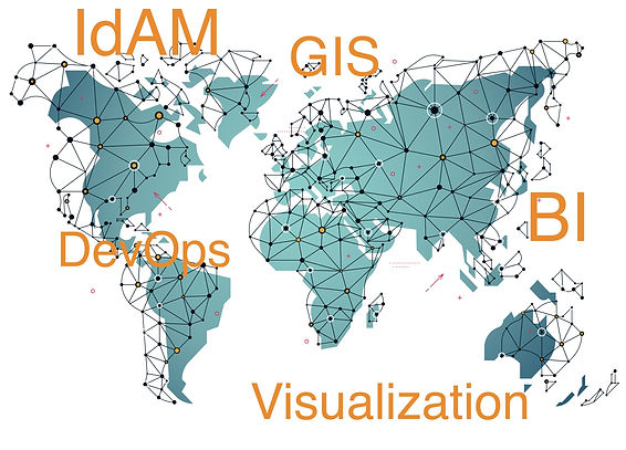 Bana Technologies: IdAM, GIS, Geospattial, Business Intelligence, DevOps, Visualization, Cloud