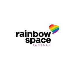 Rainbow Space logo design