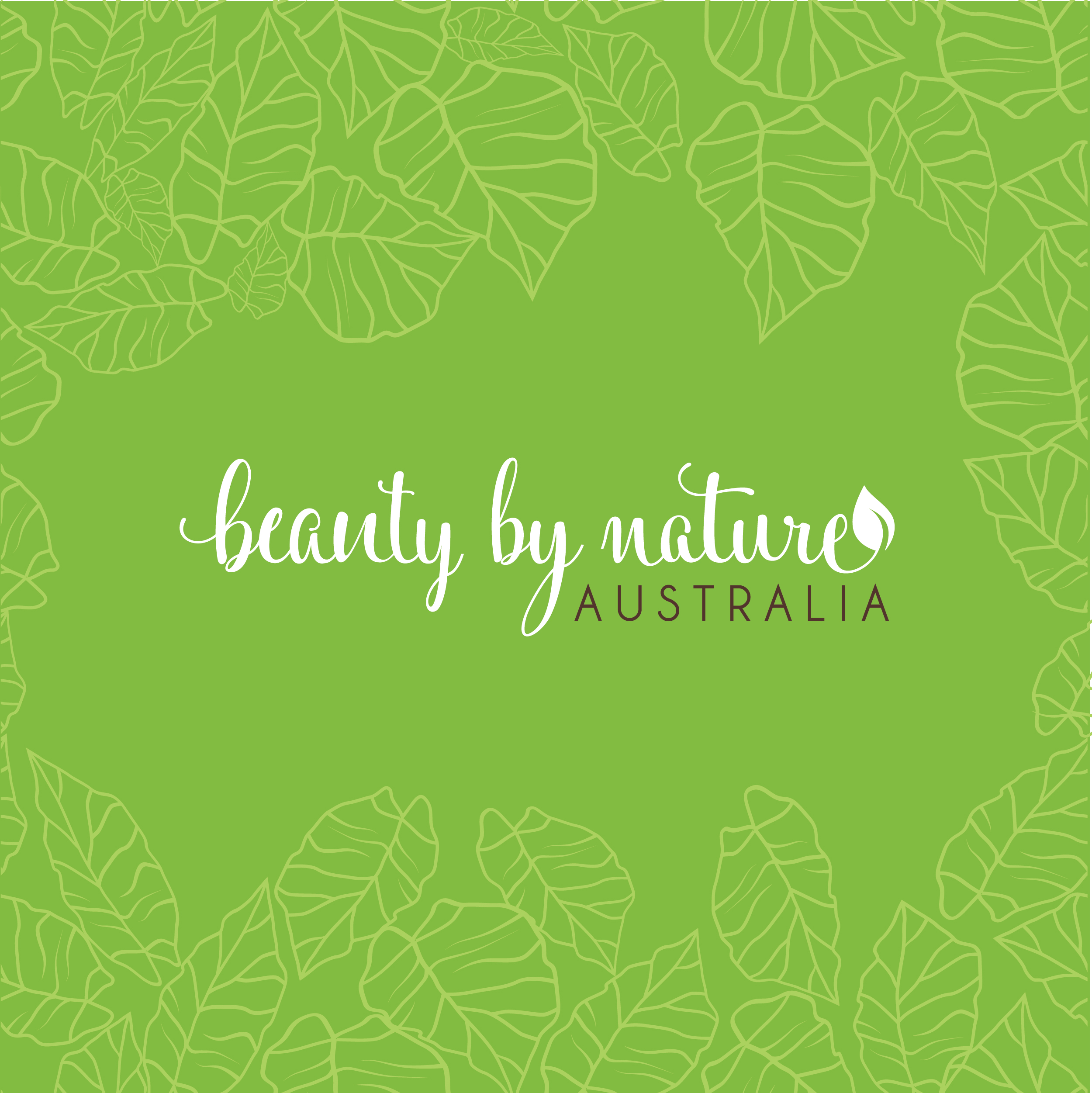 Beauty by Nature branding