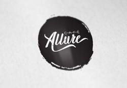 Cafe Allure logo design