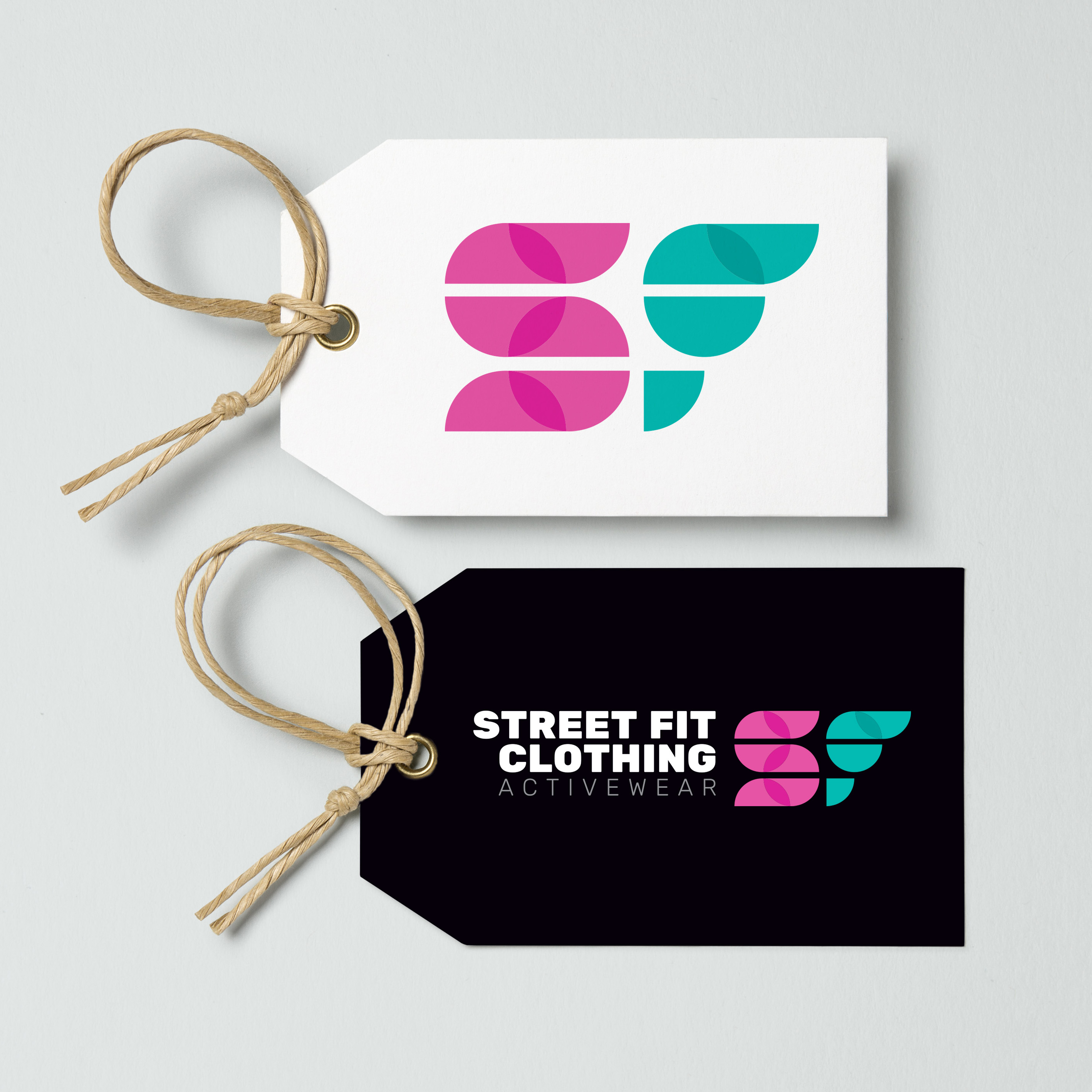 Street fit clothing tag