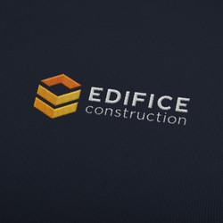 Edifice logo embroidered