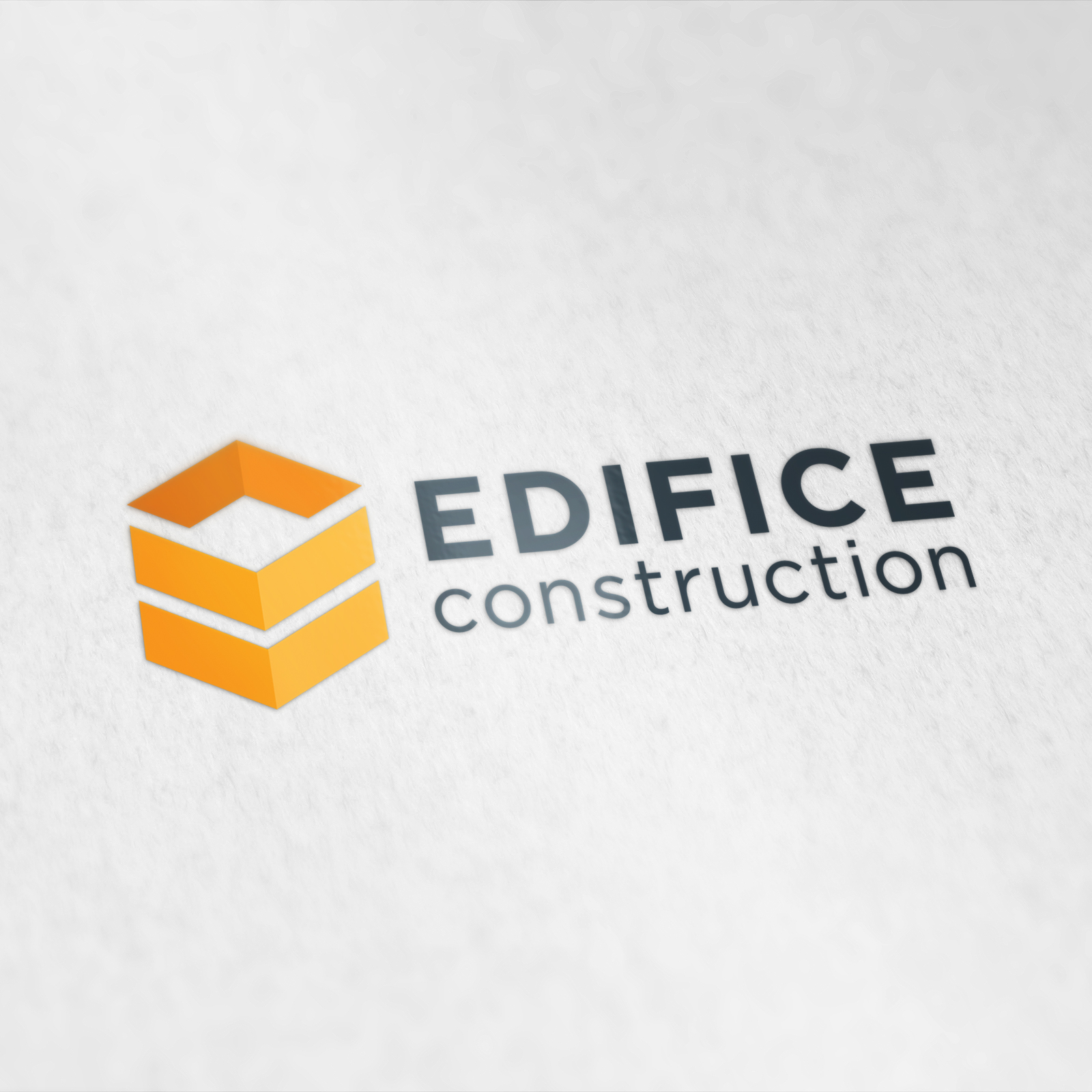 Edifice logo design